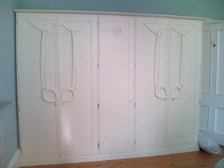 Hunterian white wardrobe