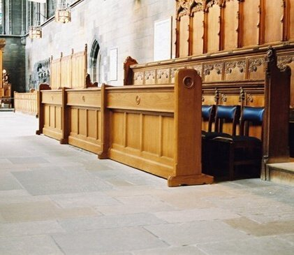 Choir Stalls at Paisley Abbey
