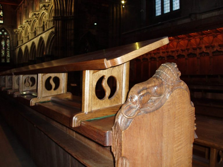 Paisley Abbey Choir Stalls Detail