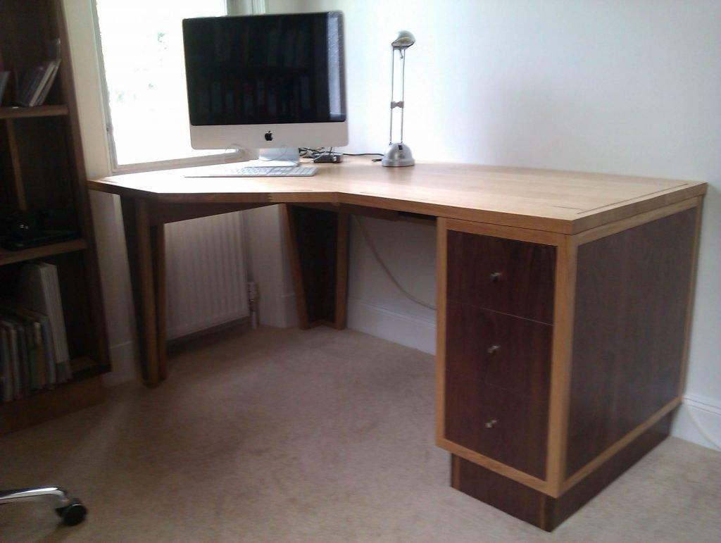 Walnut & Oak desk